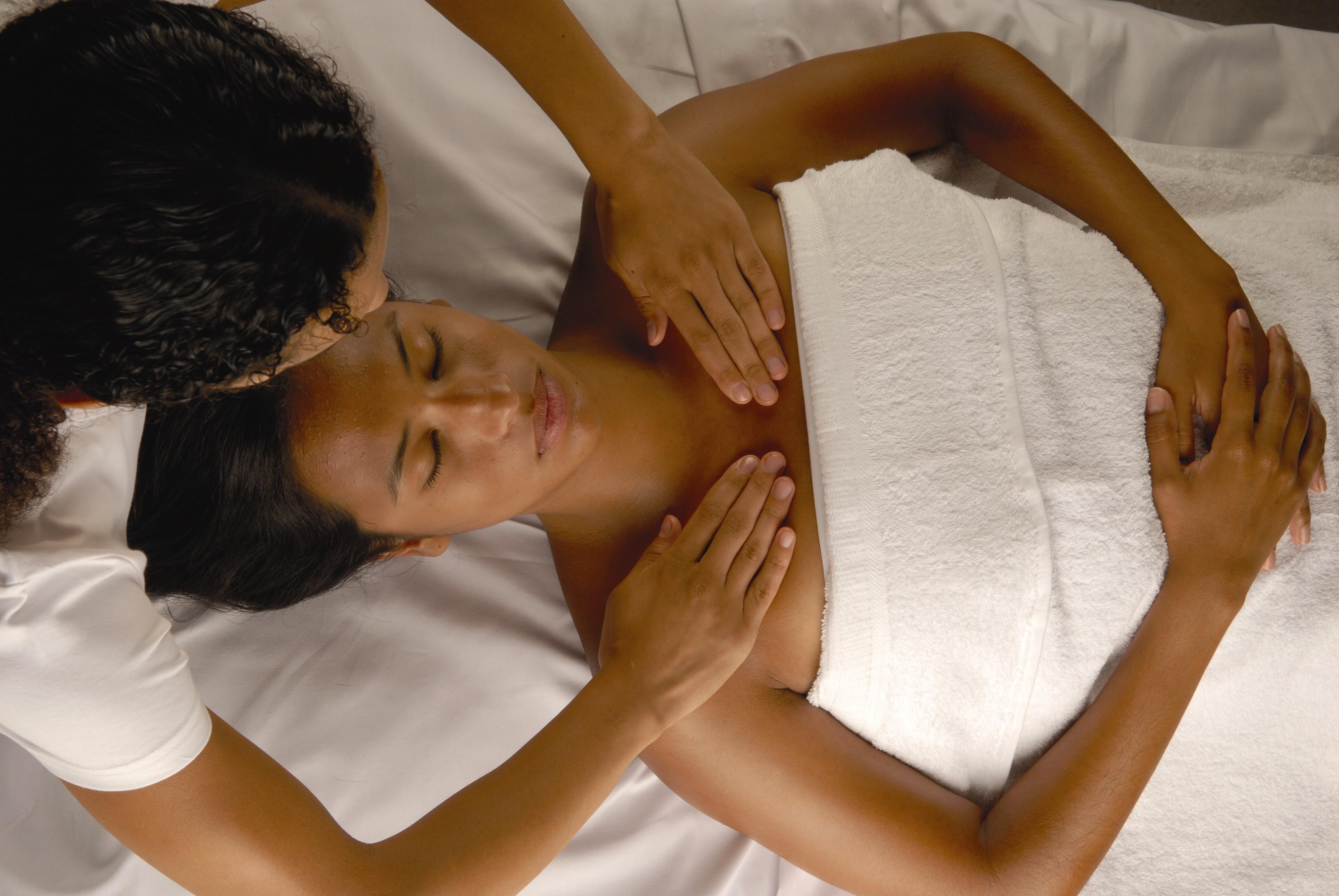 lymphatic facilitation massage